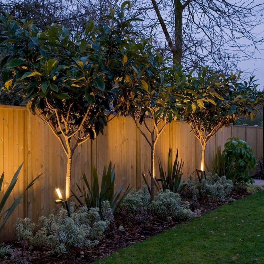 Fence uplighting